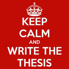 keep calm thesis