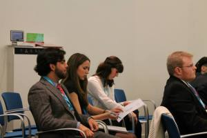 Some of the Leiden MUN focusing at DIMUN