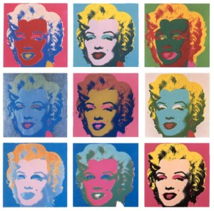 Marilyn Monroe, by Andy Warhol