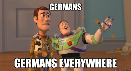 germans everywhere
