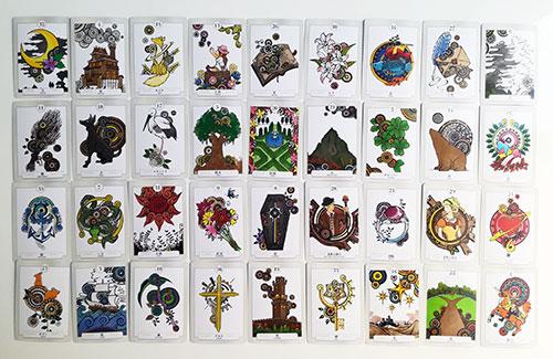 ルノルマン・カードの世界、グランタブロー