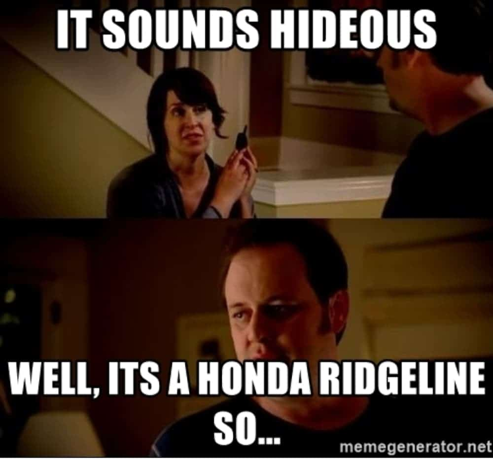 Anonymous Internet Troll Rebrands Honda Ridgeline Honda Is