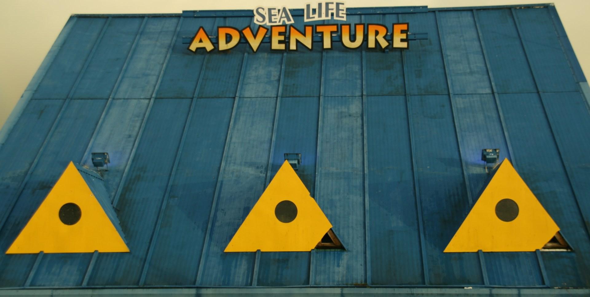 Sealife Adventure centre, Southend, Essex