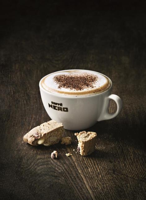Coffee and a treat (Photo: Caffè Nero)