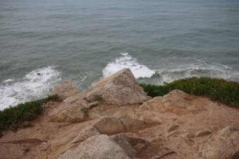 Cabo da Roca 'where the land meets the sea'