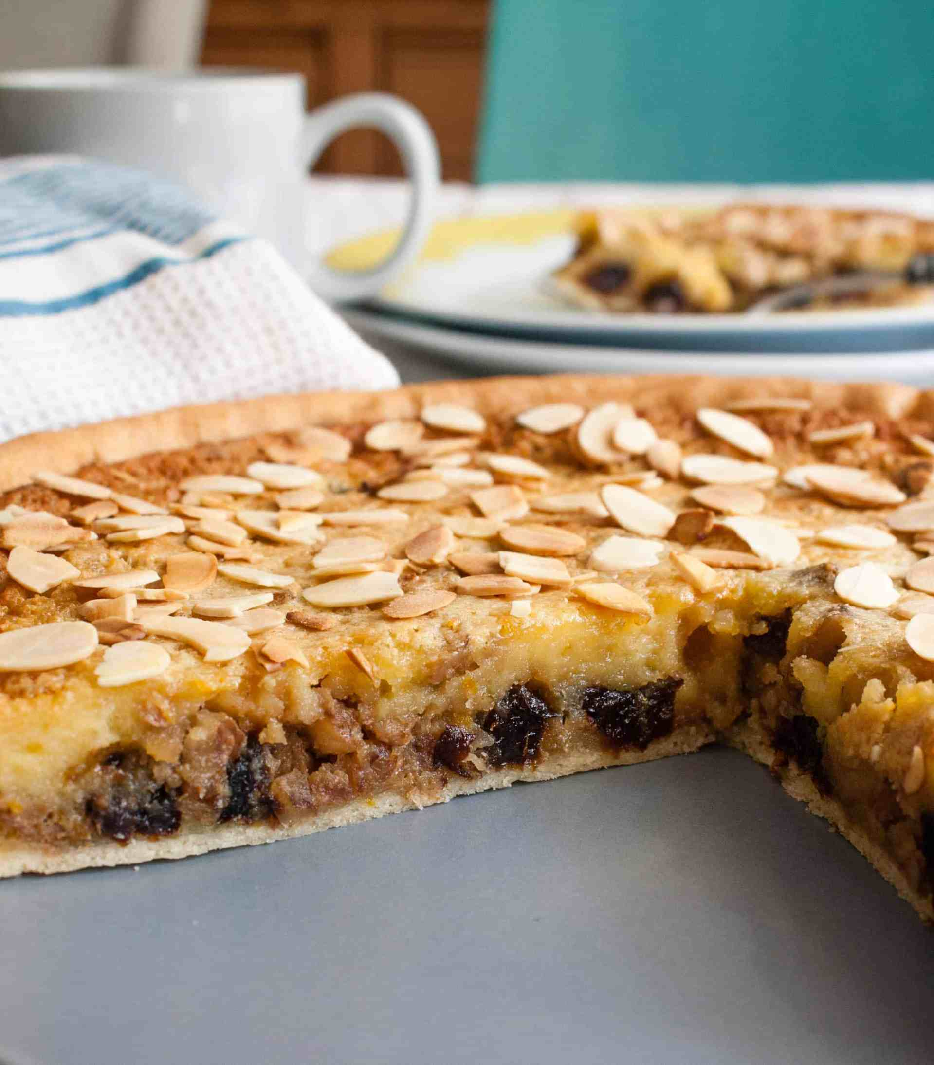 This image has an empty alt attribute; its file name is prune-walnut-tart-large-file.jpg