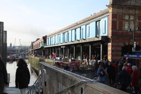 Part of Bristol's buzzing Harbourside