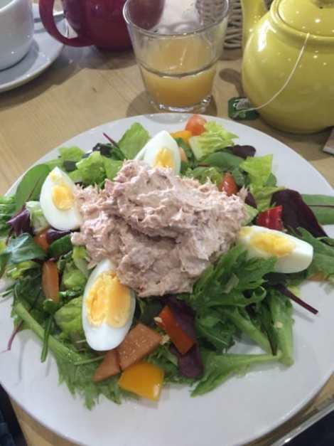 Tuna and egg salad at Hog & Hedge