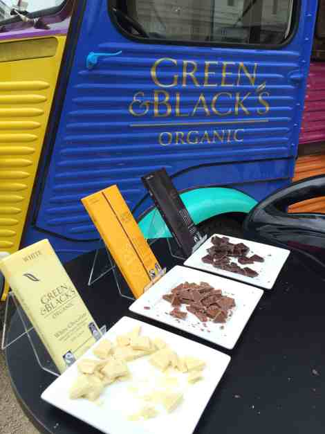 New flavours up for grabs from Green & Blacks