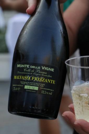 The deliciously sparkling Malvaisa Frizzante