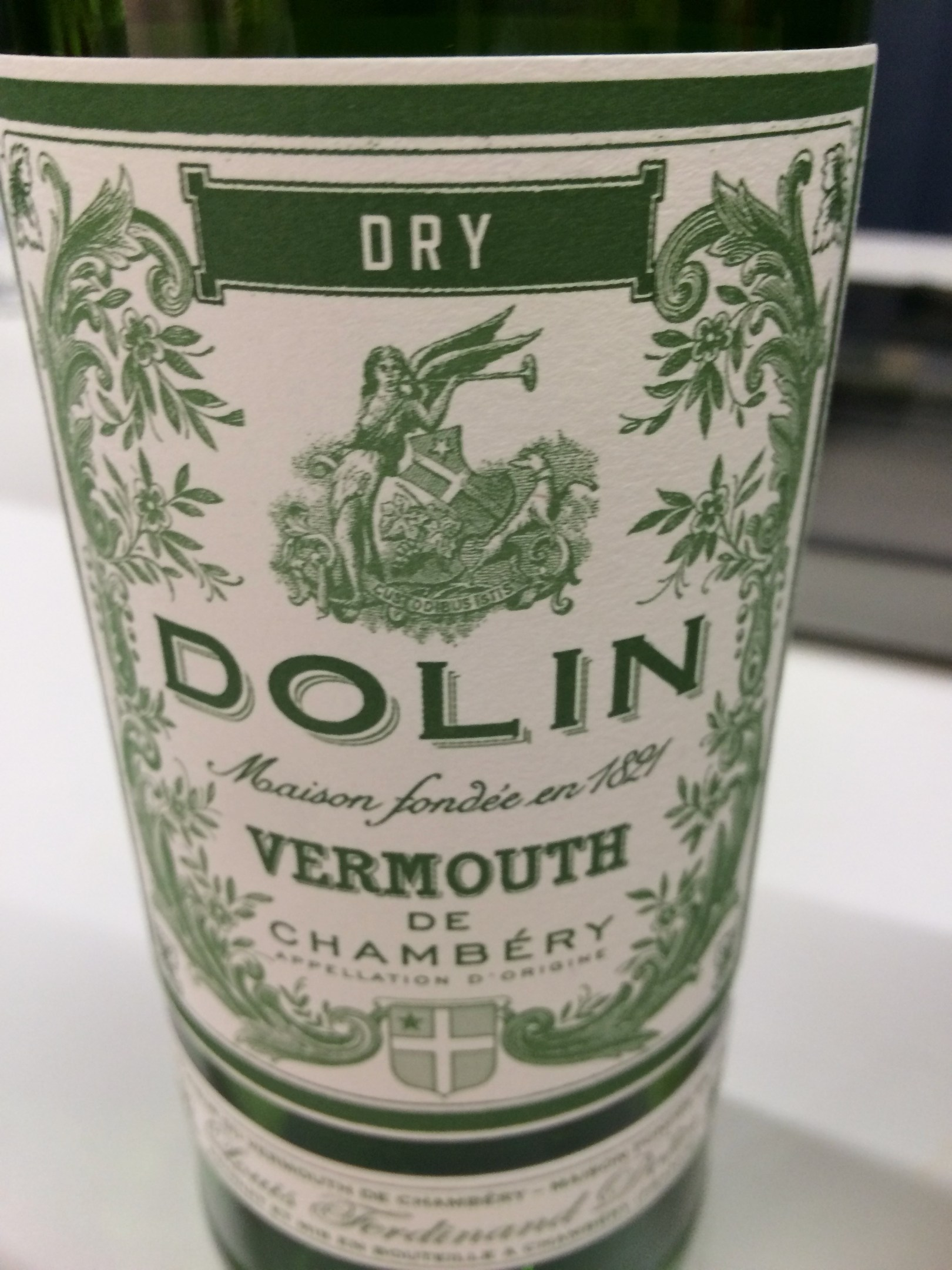 Dolin vermouth from Chambery, France