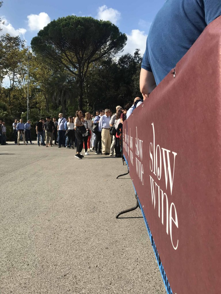 Slow Wine draws an enthusiastic crowd from around Italy for the annual festival