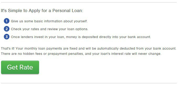 peer to peer debt consolidation loans for non-homeowners