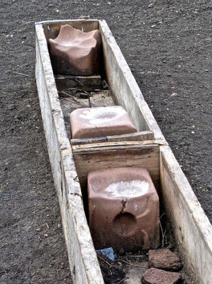Salt bunk