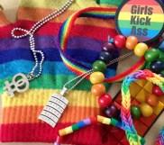 Några av min Prideprylar