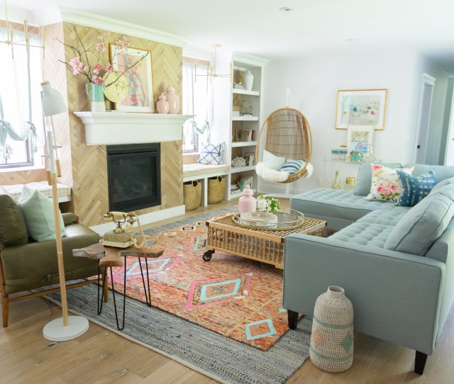 Vintage Summer Family Room Renovation Reveal The Leslie Style