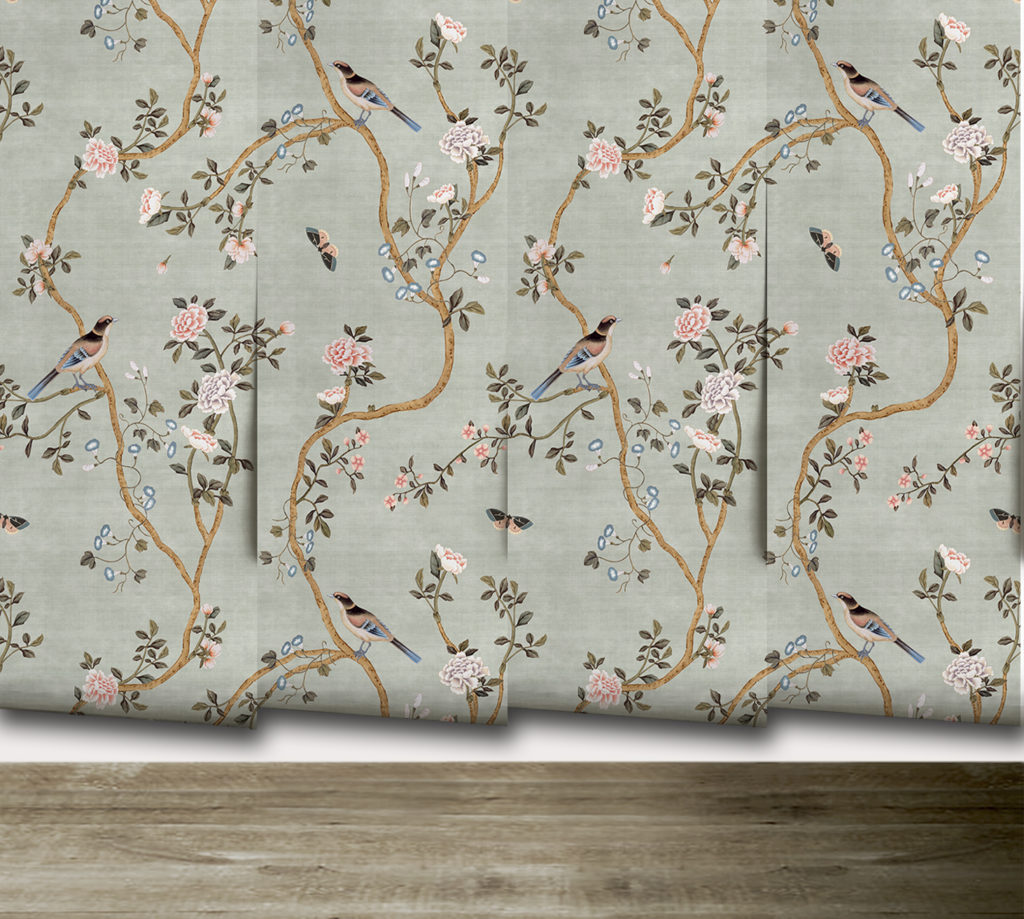 My Chinoiserie Wallpaper Collaboration Reveal The Leslie Style