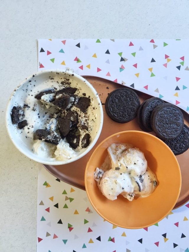 OREO ice cream hack
