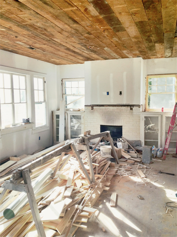 Old Cloverdale House Renovation Walls Floors And
