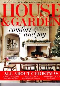 House & Garden December cover