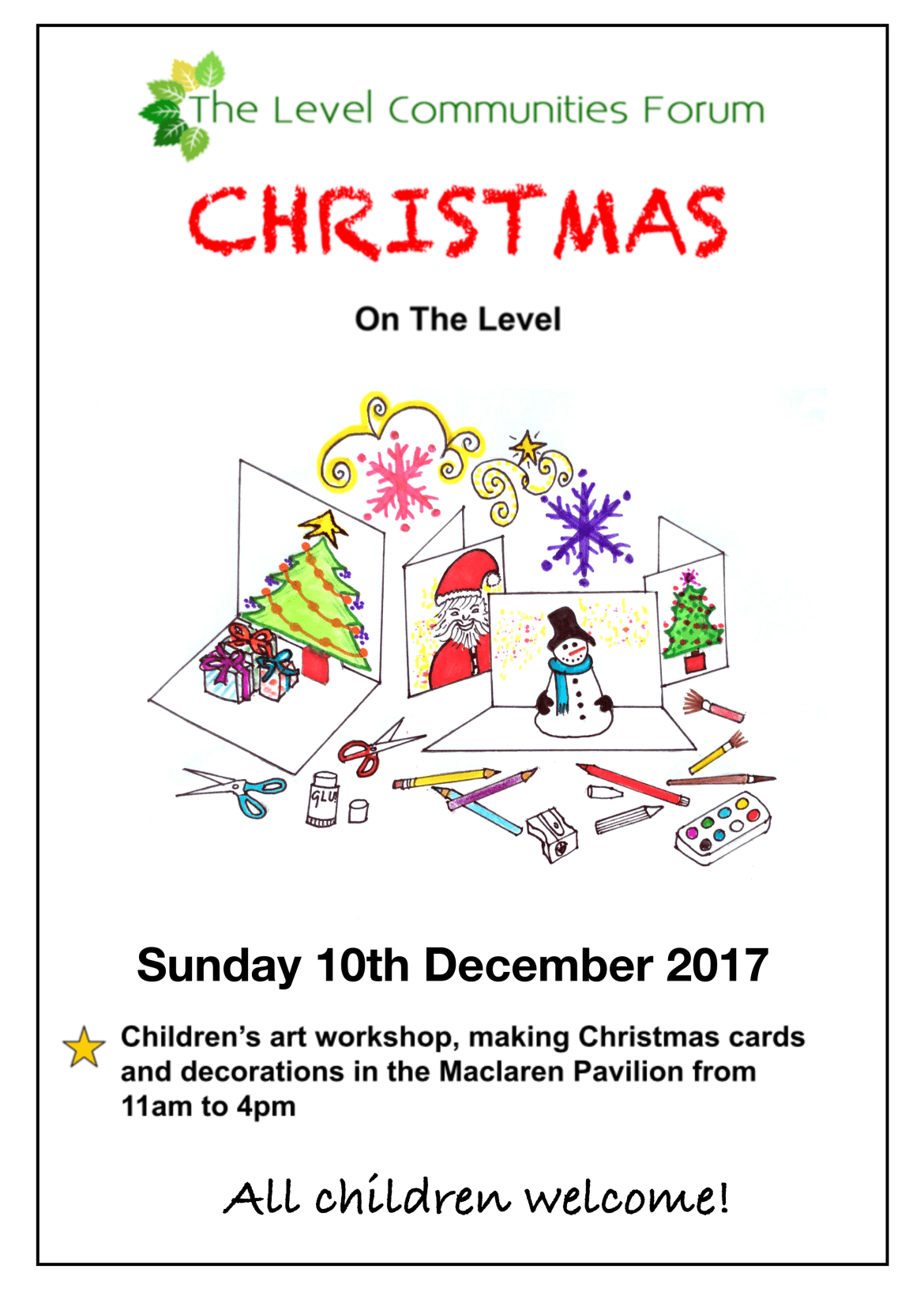 Christmas Children's Art Workshop