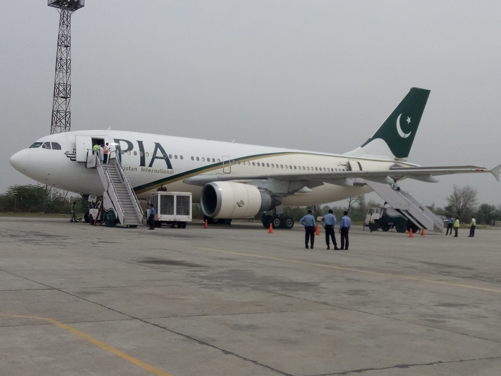 Pakistan International Airlines.
