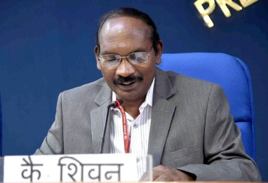 The Indian Space Research Organisation (ISRO) Chairman, Dr. K. Sivan.