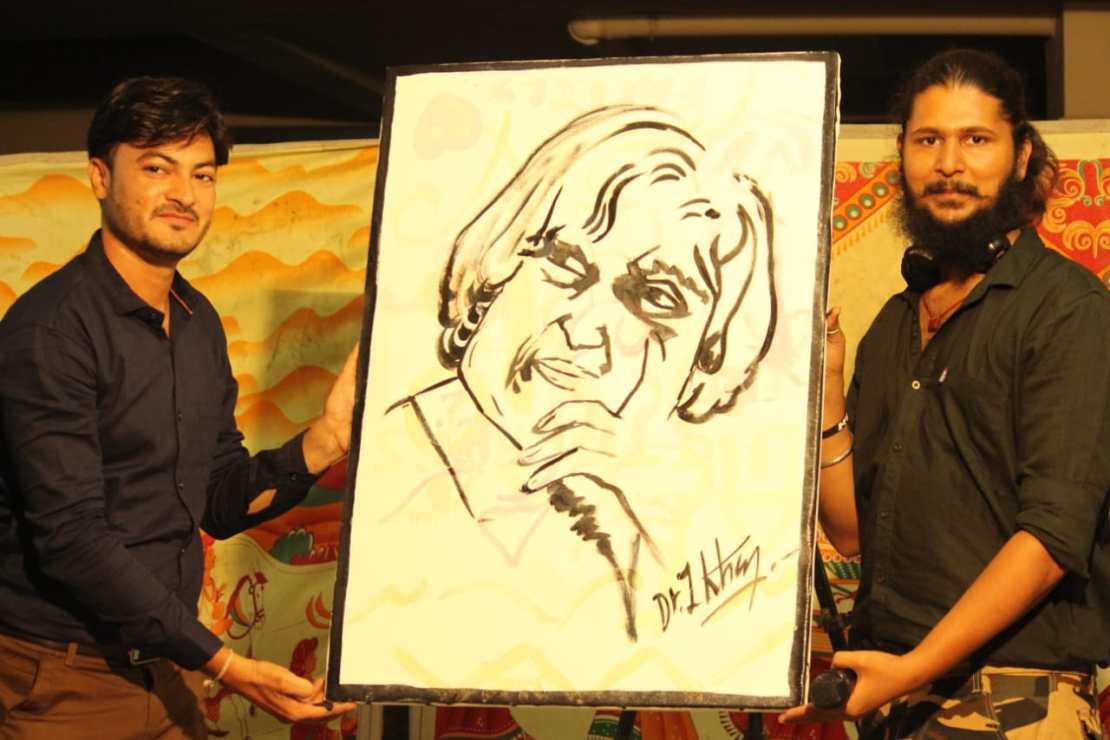 Dr. Imran Khan with Dev Vashishta