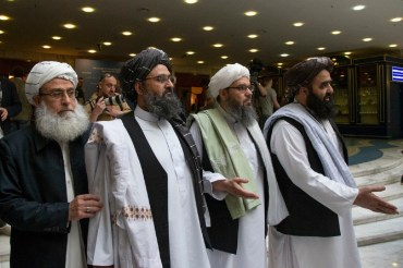 "US-Taliban peace agreement might be a ""Headache"" for India."