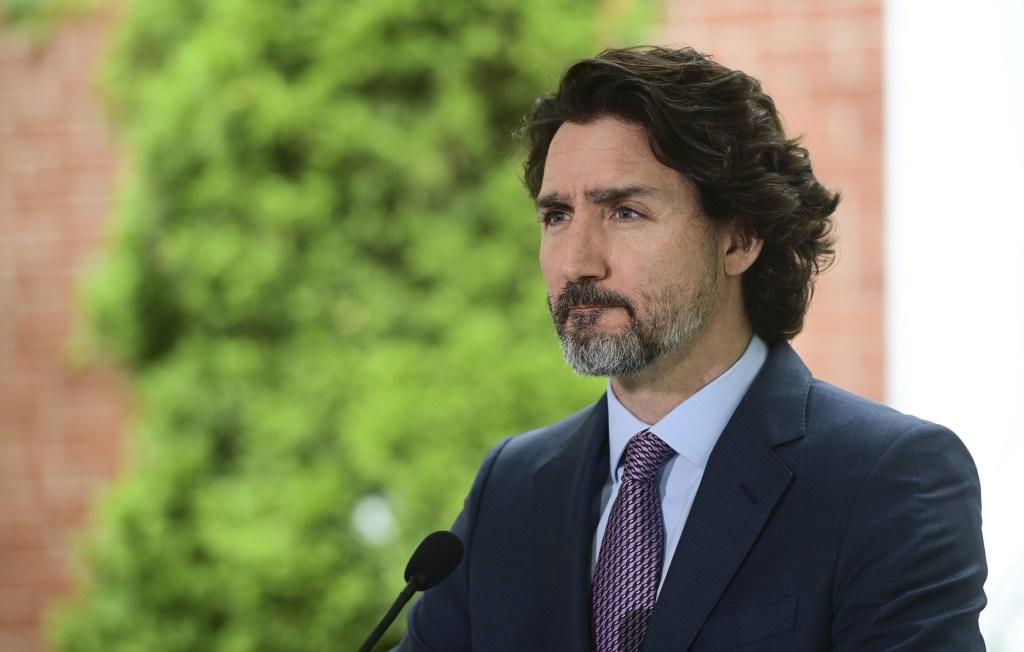 Justin Trudeau speaks on Canadian Graves