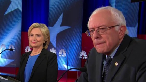 Hillary Clinton, Bernie Sanders, neocon