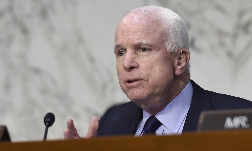 McCain in January.