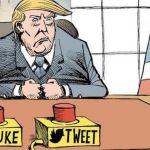 Donald Trump tweet mute loud mouth