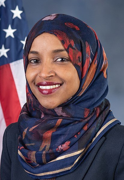 413px-Ilhan_Omar,_official_portrait,_116th_Congress_(cropped).jpg
