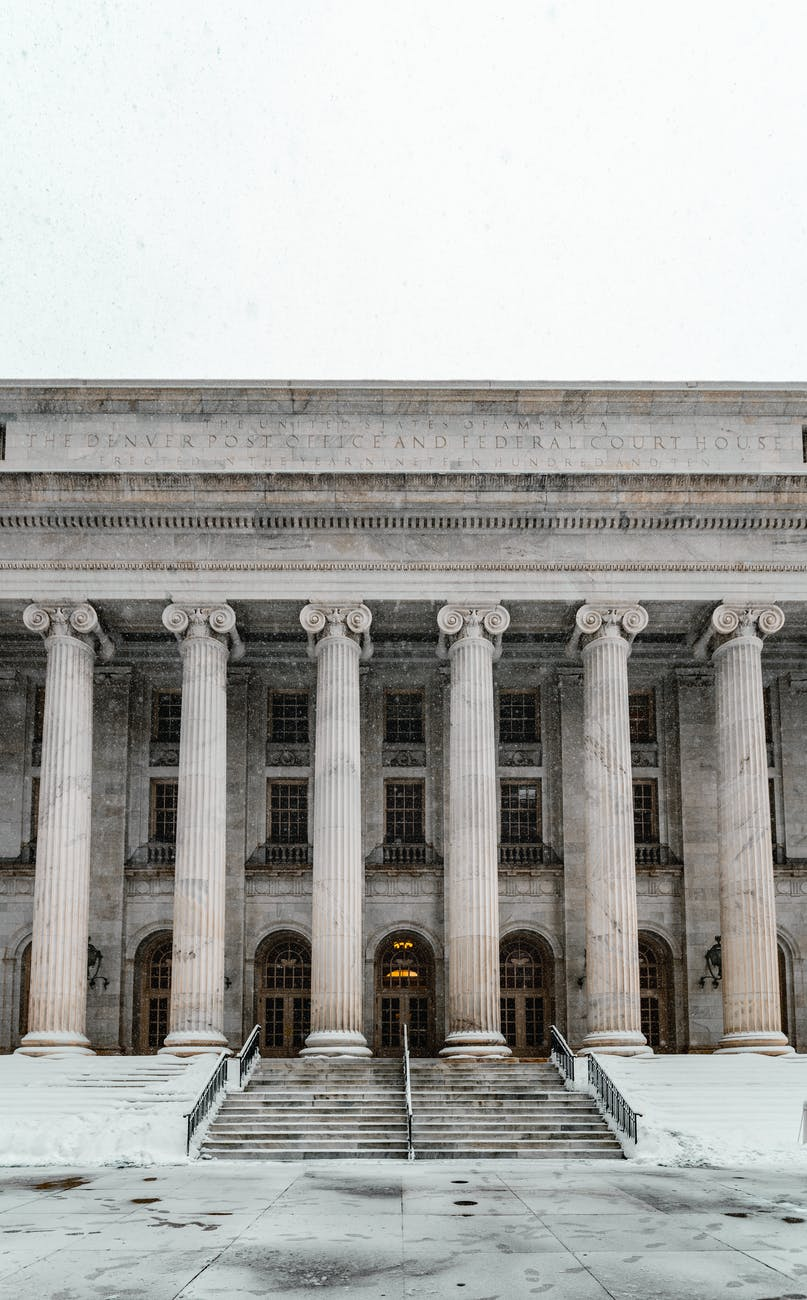 the denver post office and federal court house