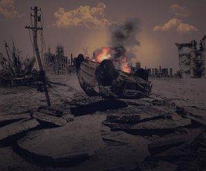 apocalypse, end time, war