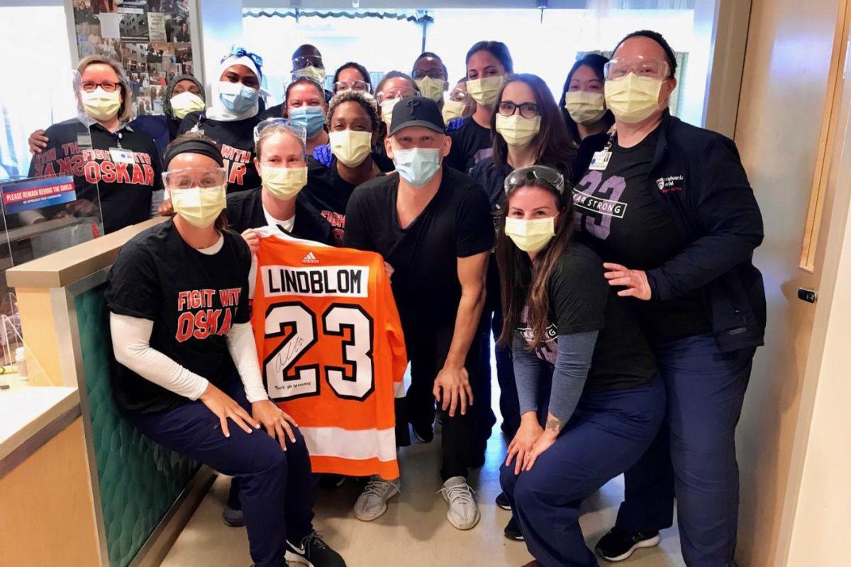 Lindblom and nurses