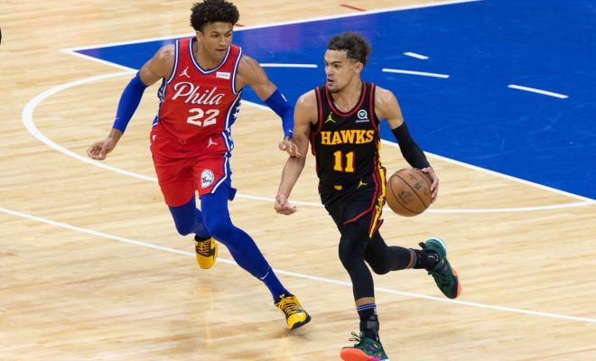 Sixers Hawks Game One