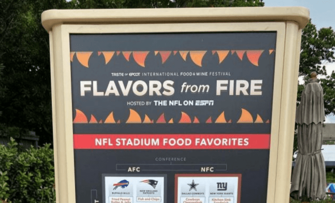 Epcot Flavors from Fire