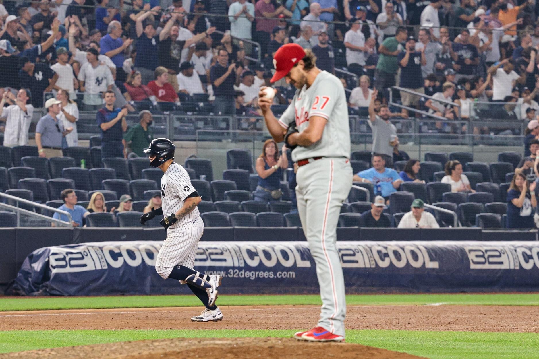 Aaron Nola Phillies Yankees