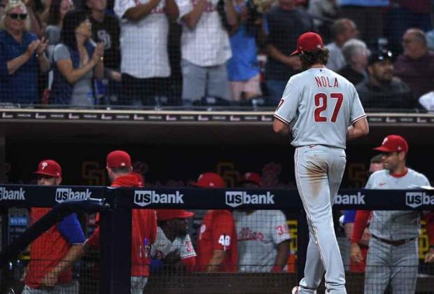 Phillies Padres Aaron Nola