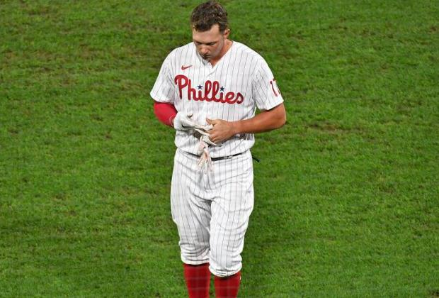 Rhys Hoskins Out For Season