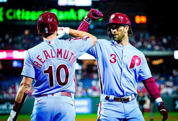 Phillies Cubs 17-8