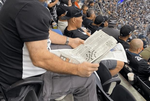 Eagles Raiders Newspaper