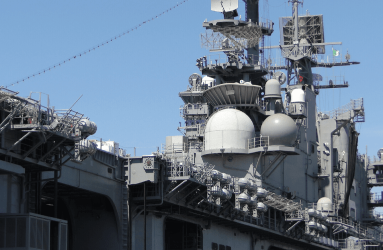 Explosion and fire aboard USS Bonhomme Richard in San Diego
