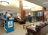 This was the most popular area for students to sit, read, hang-out, and sometimes nap.