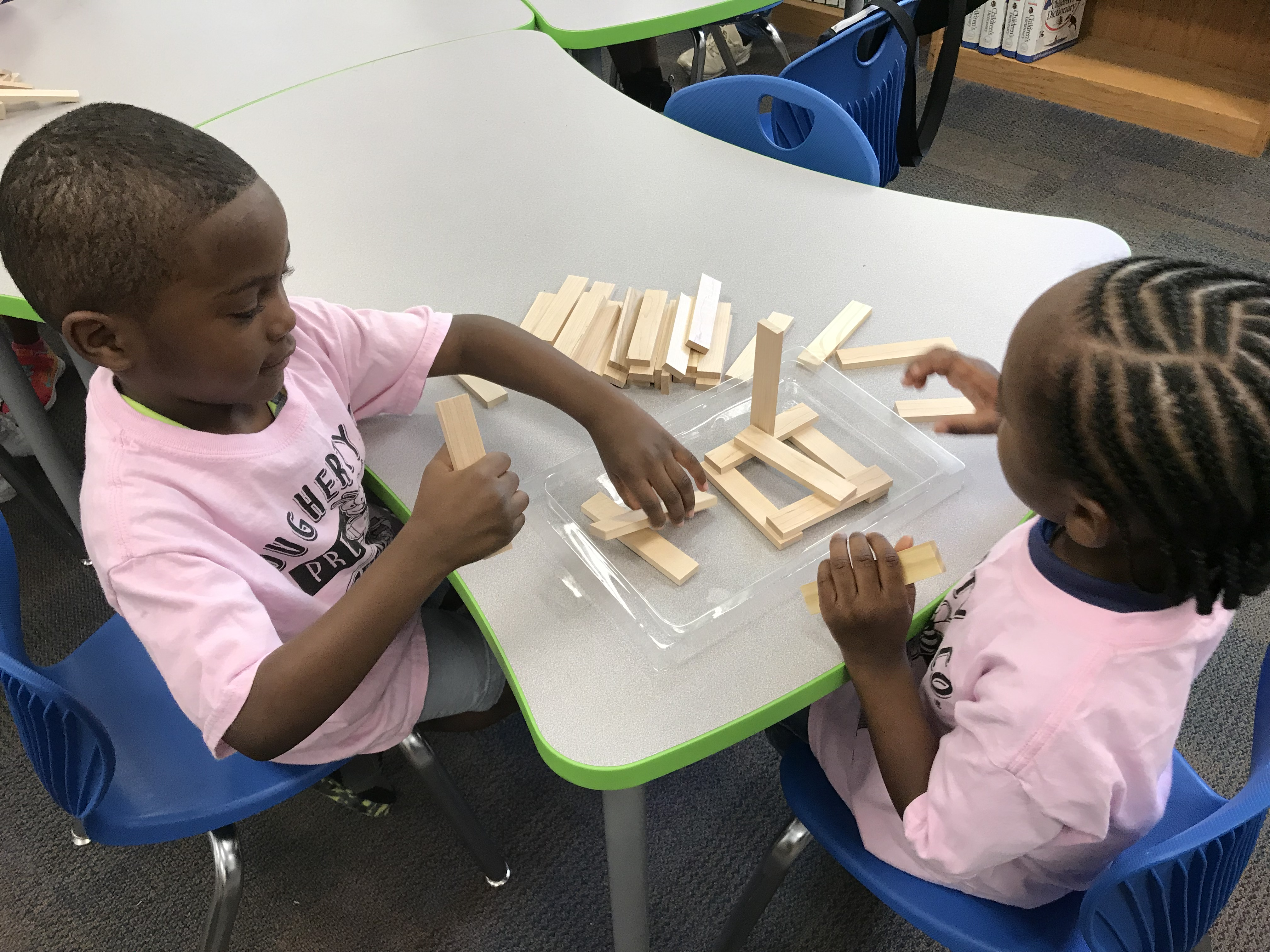 Pre K Visit Three Little Pigs And Makerspace Activity