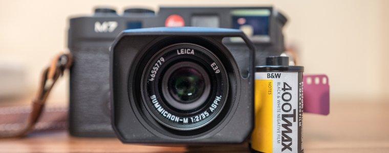 Leica M7 with Kodak TMAX 400