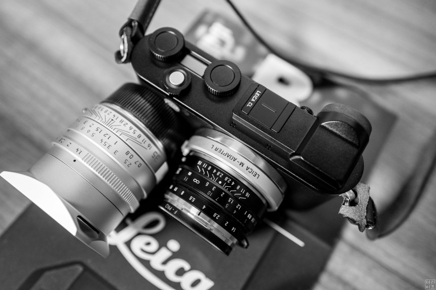 Leica CL, Voigltander lens vs Summilux Lens