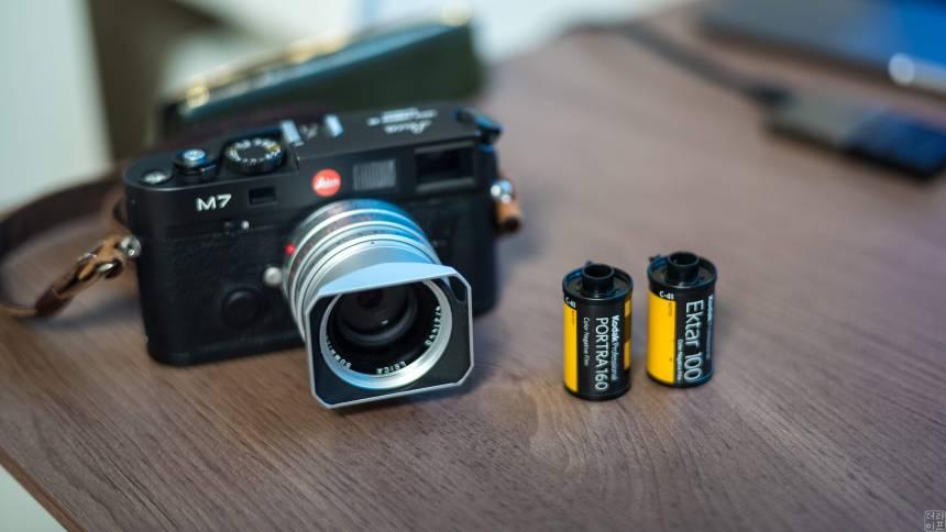 Kodak Portra , Ektar films are my favorite films for this season.